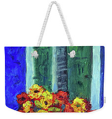 European Window Box Weekender Tote Bag