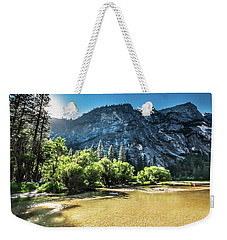 Weekender Tote Bag featuring the photograph Eve Approaches- by JD Mims