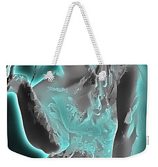 Weekender Tote Bag featuring the painting EVE by Tbone Oliver