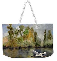 Evening Flight Weekender Tote Bag