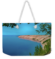 Eveing Light On Grand Sable Banks Weekender Tote Bag