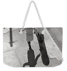 Even Your Shadow Dances On Mardi Gras Day Weekender Tote Bag