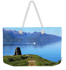 Evenes, Fjord In The North Of Norway Weekender Tote Bag