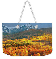 Evening Aspen Weekender Tote Bag
