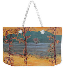Evening On Caddo Lake Weekender Tote Bag