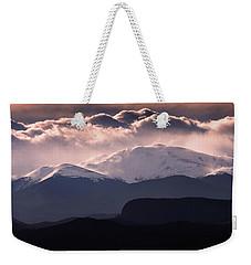 Evening At Evans Weekender Tote Bag