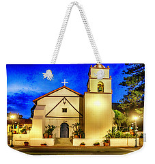 Evening At Mission San Buenaventura Weekender Tote Bag