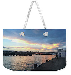 Weekender Tote Bag featuring the photograph Evening At The Bay by Nareeta Martin