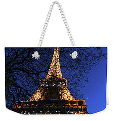Evening At The Eiffel Tower Weekender Tote Bag