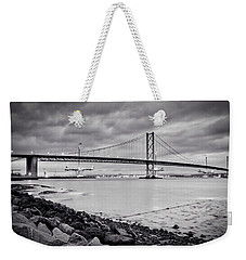 Evening At The Forth Road Bridges Weekender Tote Bag