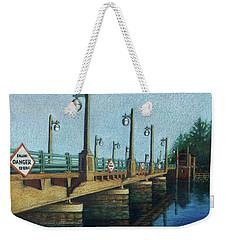 Evening, Bayville Bridge Weekender Tote Bag