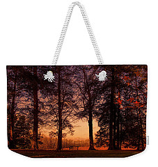 Evening Begins Weekender Tote Bag