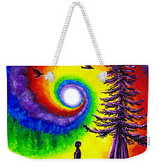 Evening Chakra Meditation Weekender Tote Bag