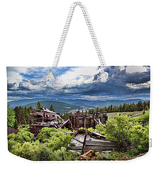 Evening Clouds At The Red Bandana Weekender Tote Bag