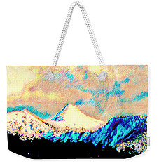 Evening Clouds Dispersing Over Sheep's Head Peak Weekender Tote Bag by Anastasia Savage Ealy