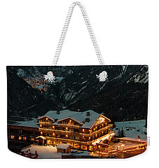 Evening Comes In Courchevel Weekender Tote Bag