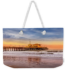 Evening Glow At The Pier Weekender Tote Bag