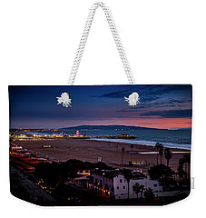 Evening Glow On The Pier Weekender Tote Bag