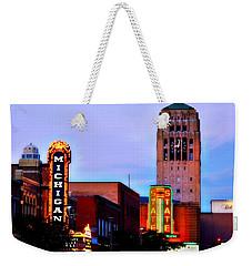 Evening In Ann Arbor Weekender Tote Bag