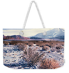 Evening In Death Valley Weekender Tote Bag