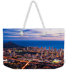 Evening In Honolulu Weekender Tote Bag