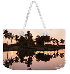 Evening In Pink Weekender Tote Bag
