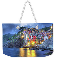 Evening In Riomaggiore Weekender Tote Bag