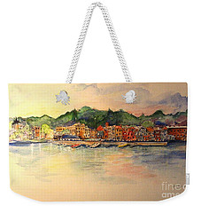 Skaneateles Village Weekender Tote Bag