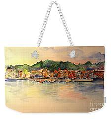 Evening In Skaneateles Weekender Tote Bag