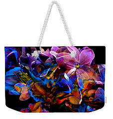 Weekender Tote Bag featuring the painting Evening In Springtime by Hanne Lore Koehler