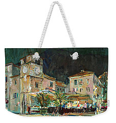 Evening In The Old Town Weekender Tote Bag