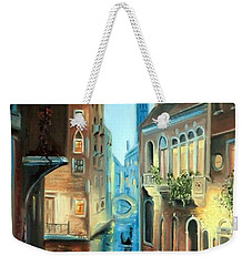 Evening In Venice Weekender Tote Bag