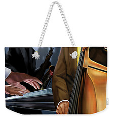 Evening Jazz Crowd Pleaser Weekender Tote Bag