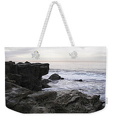 Weekender Tote Bag featuring the photograph Evening Light by Carol  Bradley