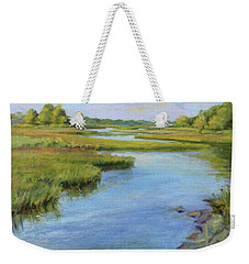 Evening On Cape Cod Weekender Tote Bag