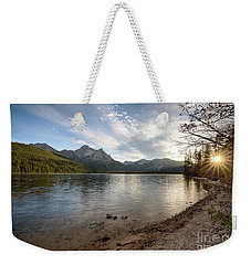 Evening On Stanley Lake Weekender Tote Bag