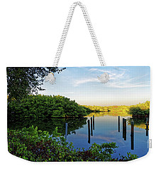 Evening On The Bayou Weekender Tote Bag