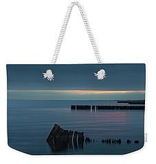 Evening On The Great South Bay Weekender Tote Bag by Steve Gravano