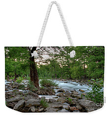 Evening On The Guadeloupe River  Weekender Tote Bag