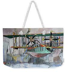 Evening Patrol Weekender Tote Bag by Ray Agius