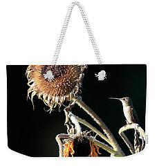 Evening Perch Weekender Tote Bag by Steve McKinzie