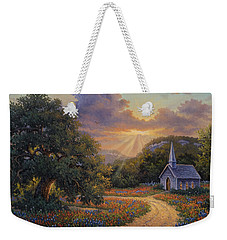 Evening Praise Weekender Tote Bag