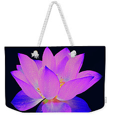 Evening Purple Lotus  Weekender Tote Bag