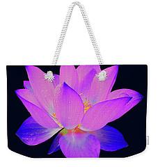 Evening Purple Lotus  Weekender Tote Bag