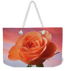 Evening Rose Weekender Tote Bag