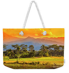 Evening Scene Weekender Tote Bag by Charuhas Images