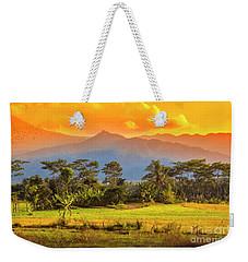 Evening Scene Weekender Tote Bag
