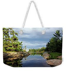 Evening Silence Franklin Island Weekender Tote Bag