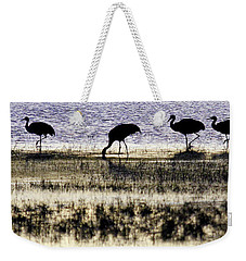 Evening Silhouette Weekender Tote Bag
