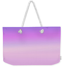 Evening Sky Abstract Weekender Tote Bag by Denise Beverly